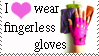 Fingerless gloves stamp by Lora-Pedigree