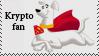 Krypto fan stamp by Lora-Pedigree