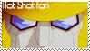 Hot Shot fan stamp by Lora-Pedigree