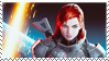 Commander Shepard stamp by Lora-Pedigree