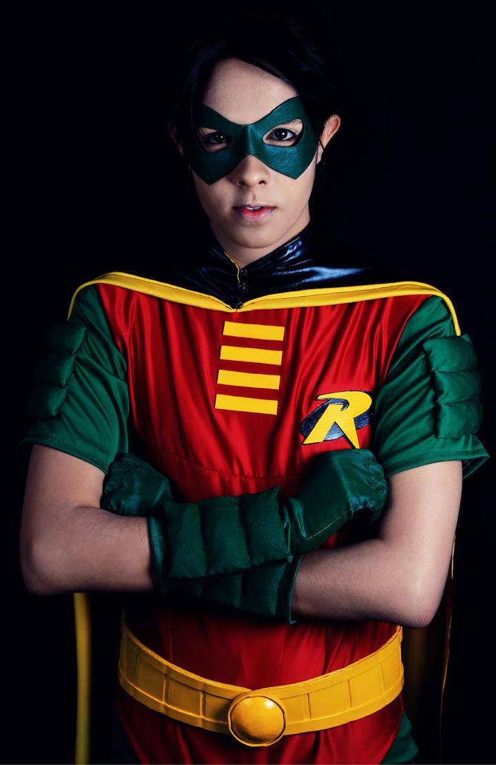 Tim Drake as Robin... The Boy Wonder by RubenMakenshi