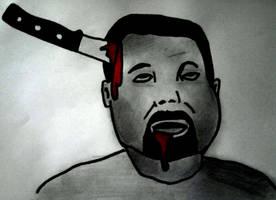 bloody head by ElNapoleoni