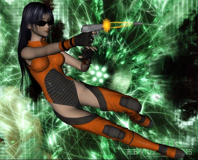 Secret Agent Aiko by Bigjim3D