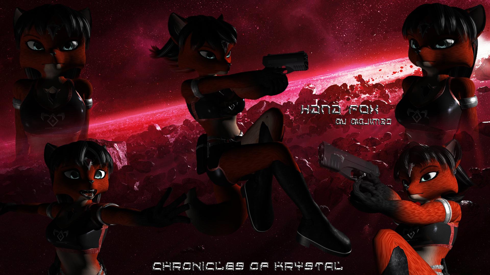Hana Fox by Bigjim3D