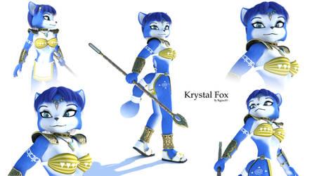 Adventures Krystal Fox by Bigjim3D