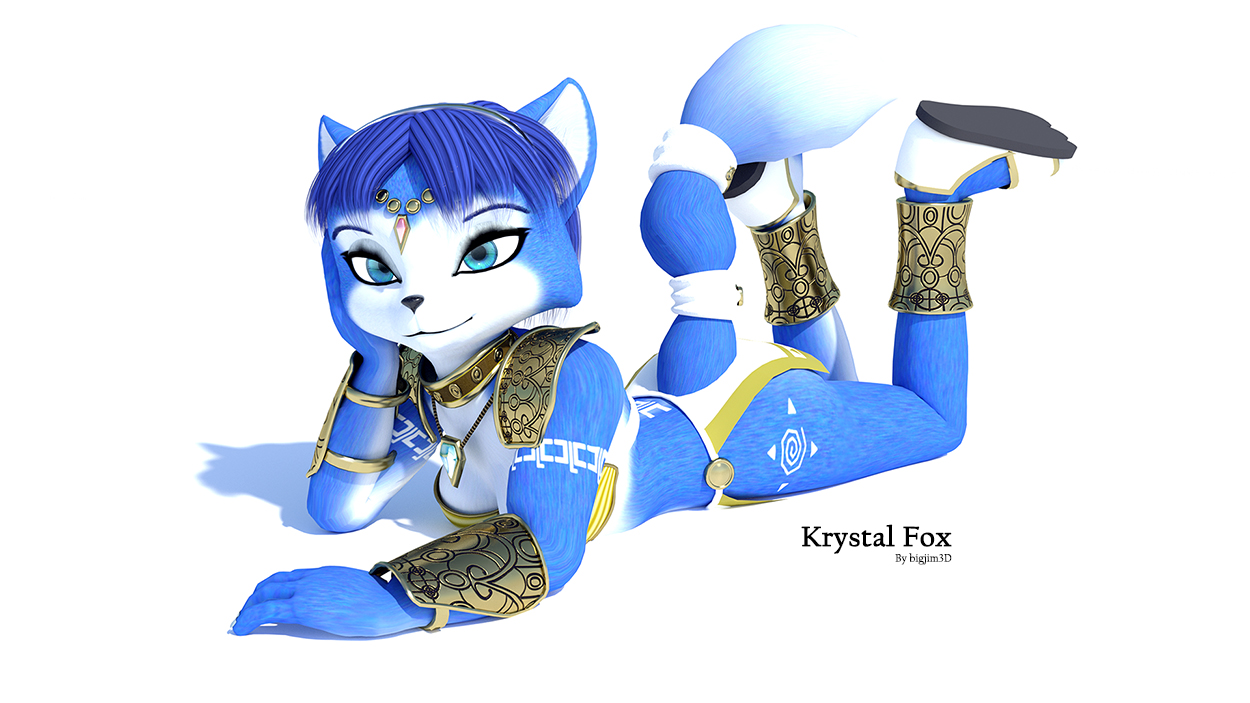 star fox krystal