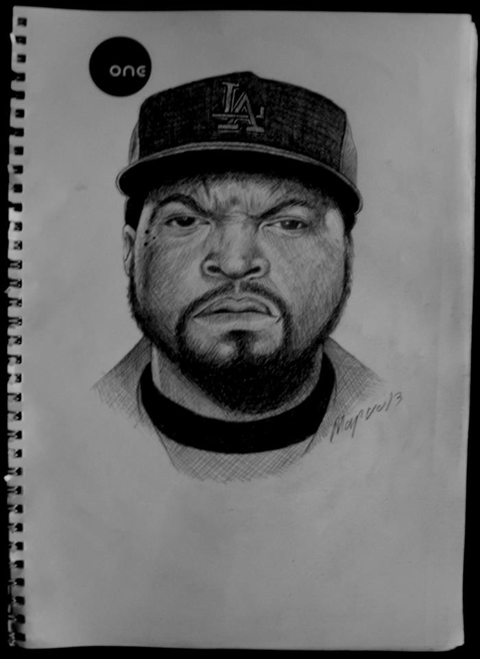 Ice Cube Drawing by MarokoTasevski on DeviantArt