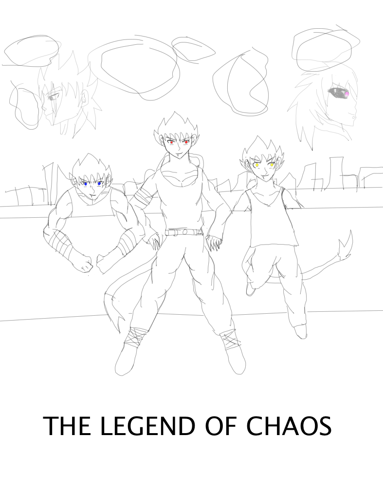 The Legend Of Chaos by BillyfabianCow