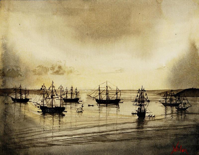 French Fleet by natalia-virlan