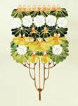 Art Nouveau Flowers 2
