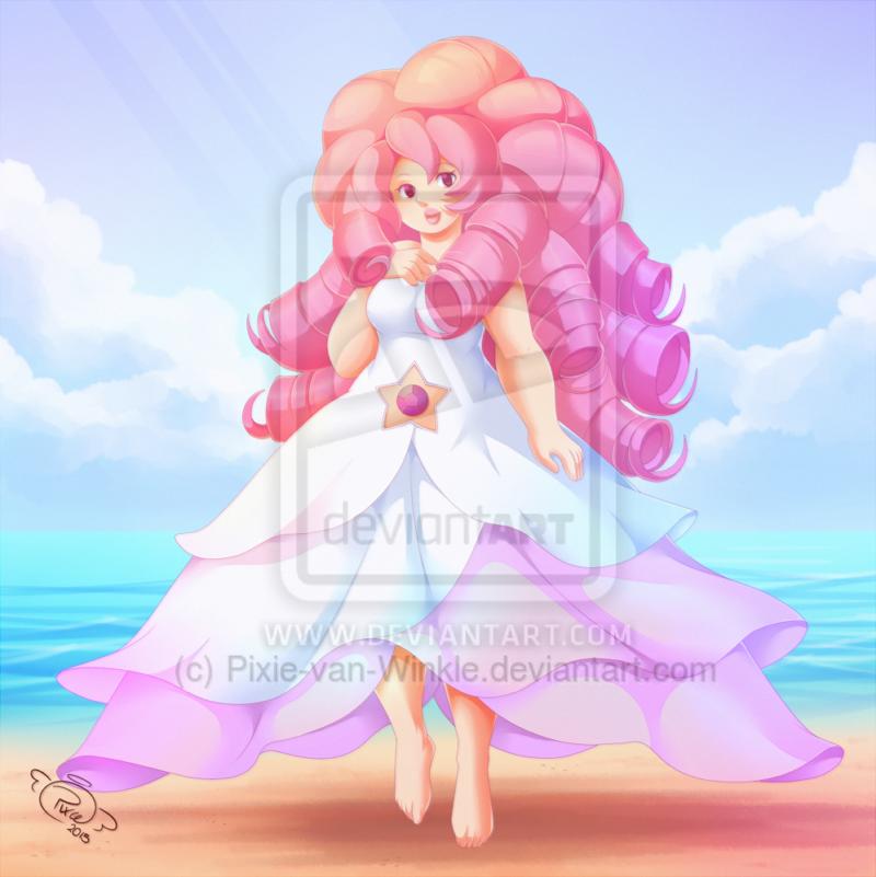 Rose Quartz by Pixie-van-Winkle