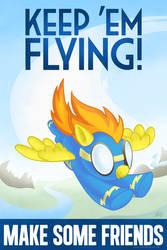 Spitfire - Keep 'Em Flying by kefkafloyd