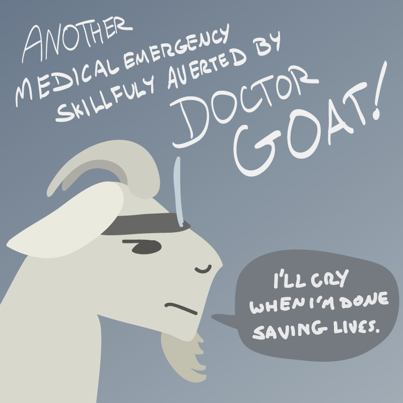 The Doctor is In by kefkafloyd