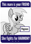 This Mare Is Your Friend - Pegasus - Derpy