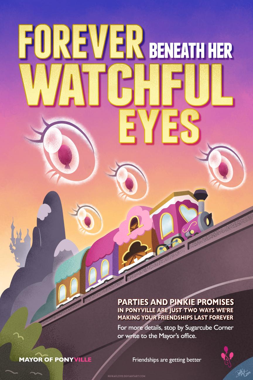 Forever Beneath Her Watchful Eyes - Pinkie Pie