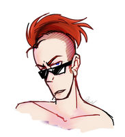 *anime nosebleed* by KioskOfSquids