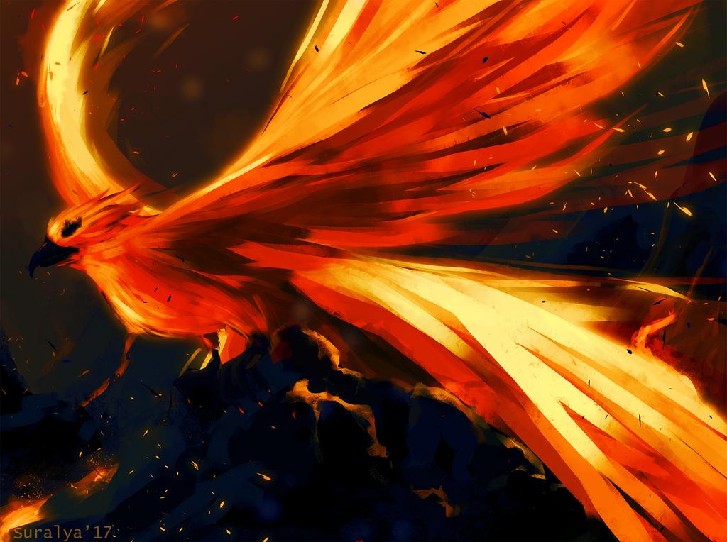Phoenix by Suralya