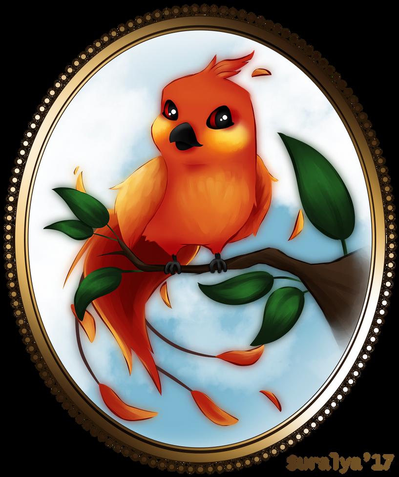 Cute Phoenix by Suralya