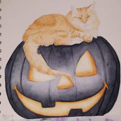Halloween Tiggs by CaptainBeth