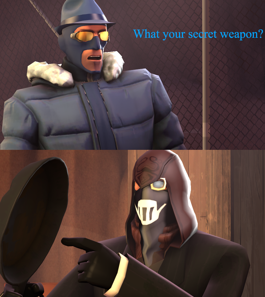 [SFM] Secret Weapon by Ghost258