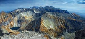 Krivan - panorama