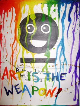 The Weapon is Art
