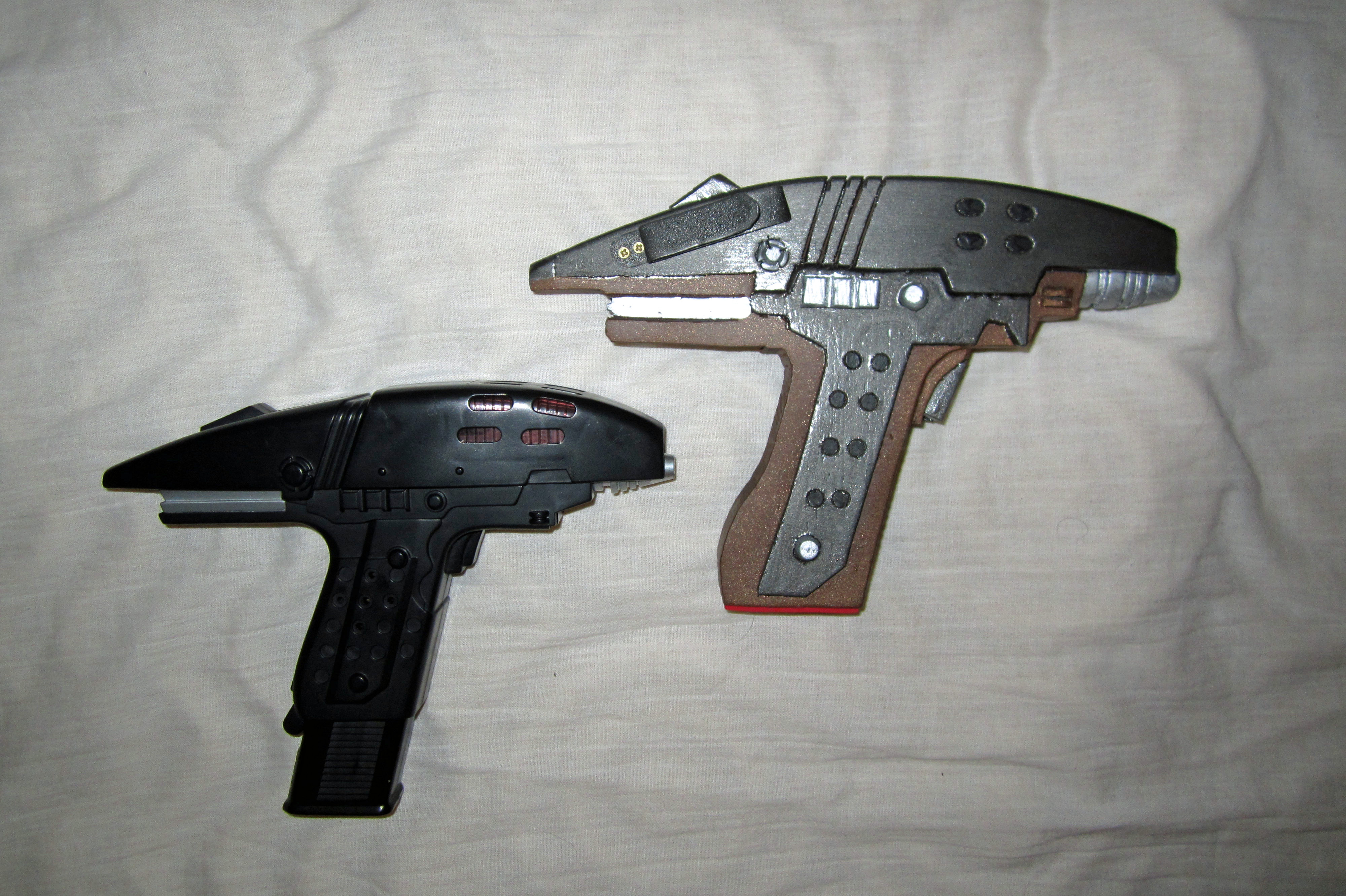 Assault Phaser: Playmates vs. Copperhead (2) by galaxy1701d