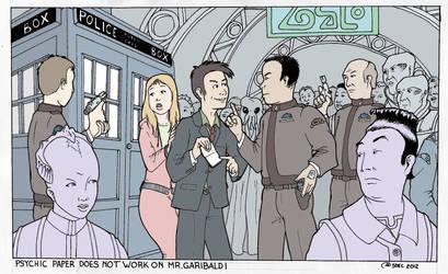 Doctor Who on Babylon 5 by Barkon68