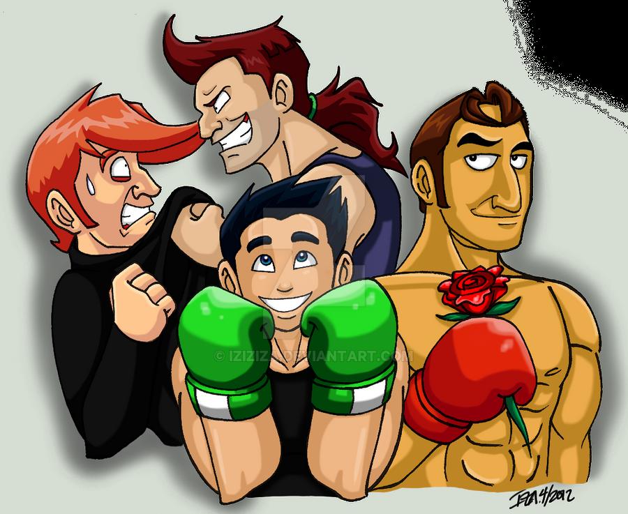 My Punch-Out Faves by IzIzIza