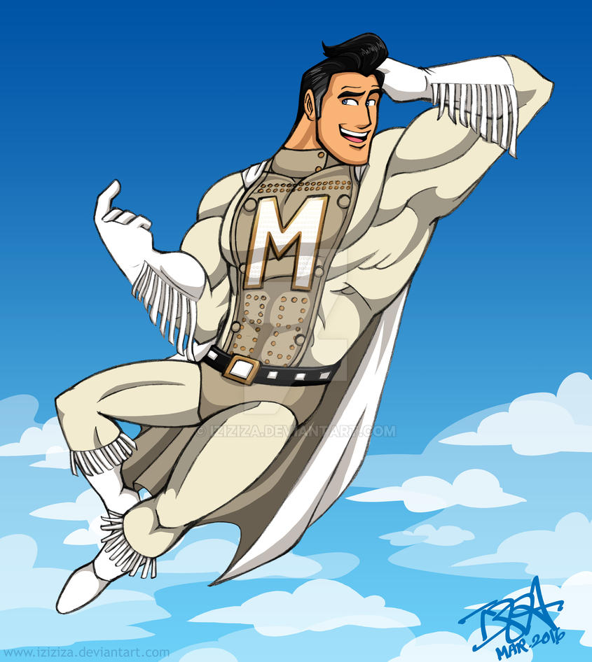 Metro Man By IzIzIza On DeviantArt
