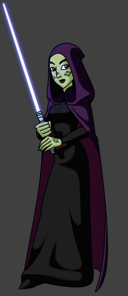 CW Barriss ready to battle by MrSeyker