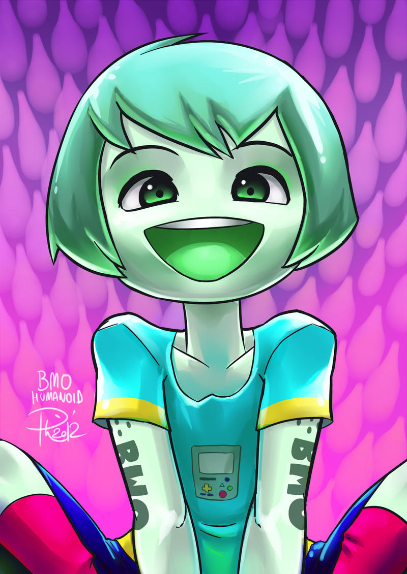 + BMO Humanoid + by GummyGumBeat