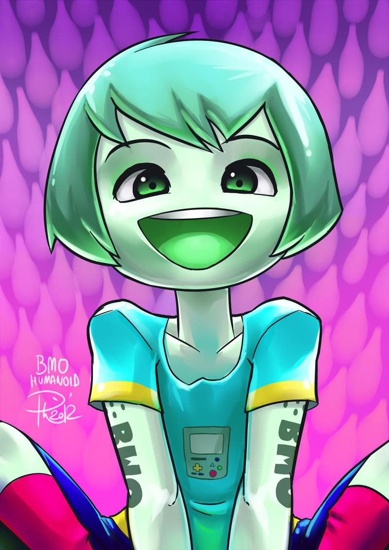 + BMO Humanoid + by GummyGumBeat