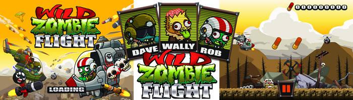 Wild Zombie Flight game by GummyGumBeat