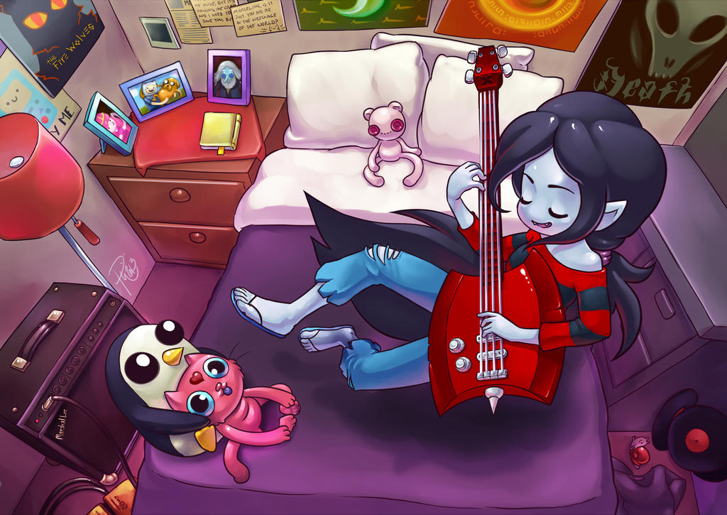 Marceline's Room by GummyGumBeat