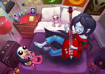 Marceline's Room by GummyGumBeat