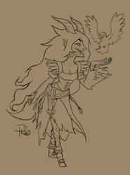 OC Witch Pathfinder by GummyGumBeat