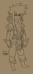 OC Sorcerer Pathfinder by GummyGumBeat