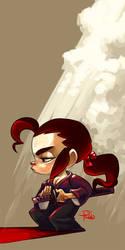 Samurai Girl by GummyGumBeat