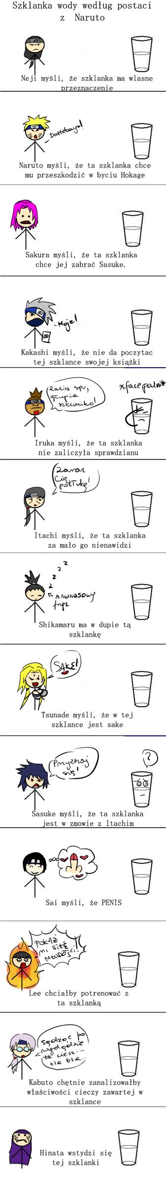 Szklanka wedlug Naruto by Minato-chan