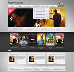 CineMagazine Web Template | ThemeFabrika
