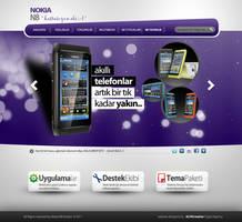 Nokia N8 Kulubu Web Interface by alisarikaya