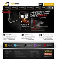 AndroidKulubu Web Interface by alisarikaya