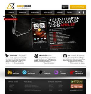 AndroidKulubu Web Interface