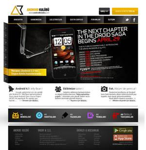AndroidKulubu (slider) Web Interface