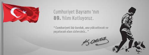 CumhuriyetBayrami / Turkey Facebook TimeLine Cover