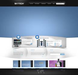 Skytech WebInterface Design
