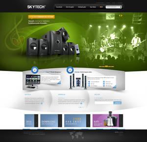 Skytech WebInterface Product Introduction Stage