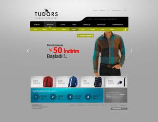 TUDORS Web Interface Design by alisarikaya