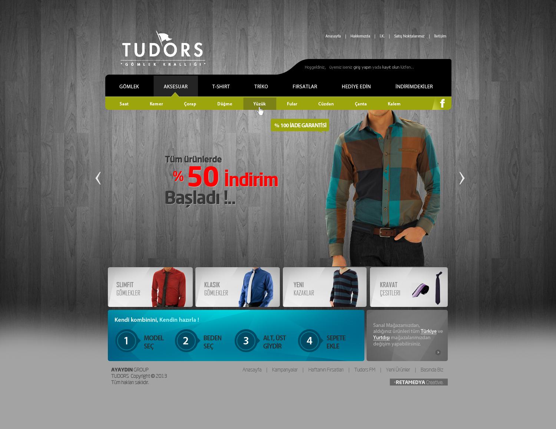 TUDORS Web Interface Design v2 by alisarikaya on DeviantArt